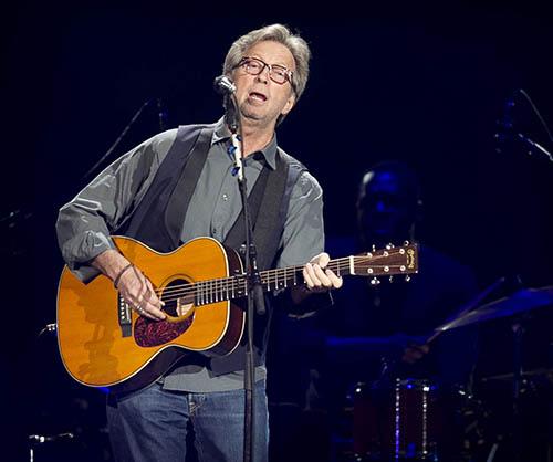 Eric Clapton autographed vest