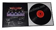 Aerosmith Autographed Album