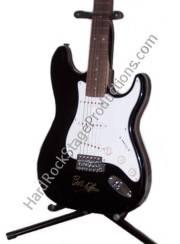 Bob Dylan Autographed Guitar