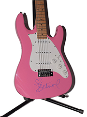 Britney Spears Autographed Guitar