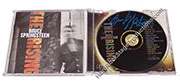 Bruce Springsteen Autographed CD