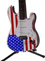 Bruce Springsteen Autographed Guitar