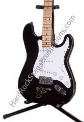 David Bowie Autographed Guitar