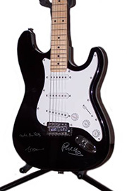 Genesis Autographed Guitar