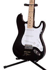 Joe Cocker Autographed Guitar