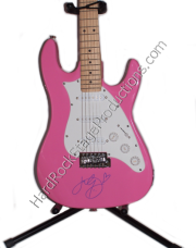 Katy Perry Autographed Guitar