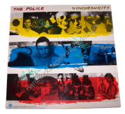 The Police Autographed Album