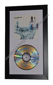 Radiohead Autographed CD