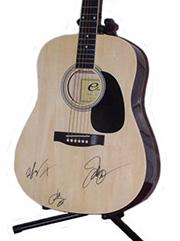Rascal Flatts Autographed Guitar