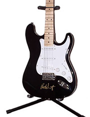 Rod Stewart Autographed Guitar