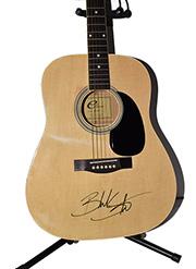 Blake Shelton Autographed Guitar