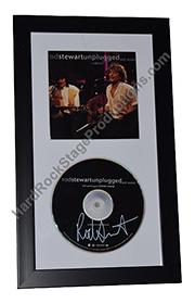 Rod Stewart Autographed CD