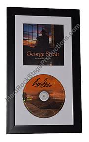 George Strait Autographed CD