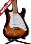 ZZ Autographed Guitar