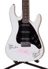 Blondie Autographed Guitar