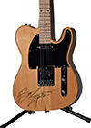 Bruce Springsteen Autographed Guitar