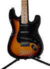 Eric Burdon Autographed Guitar