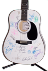Country Music Autographed Guitar