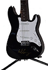 Alice Cooper Autographed Guitar
