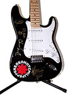 Red Hot Chili Peppers Autographed Guitar