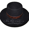 Stevie Ray Vaughan Signed and Worn Hat