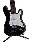 Steven Tyler Autographed Guitar