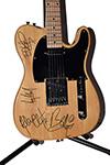 U2 Autographed Guitar