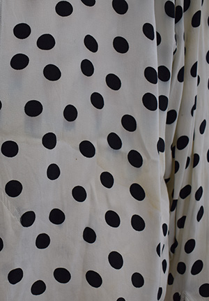 rod stewart stage worn polka dot